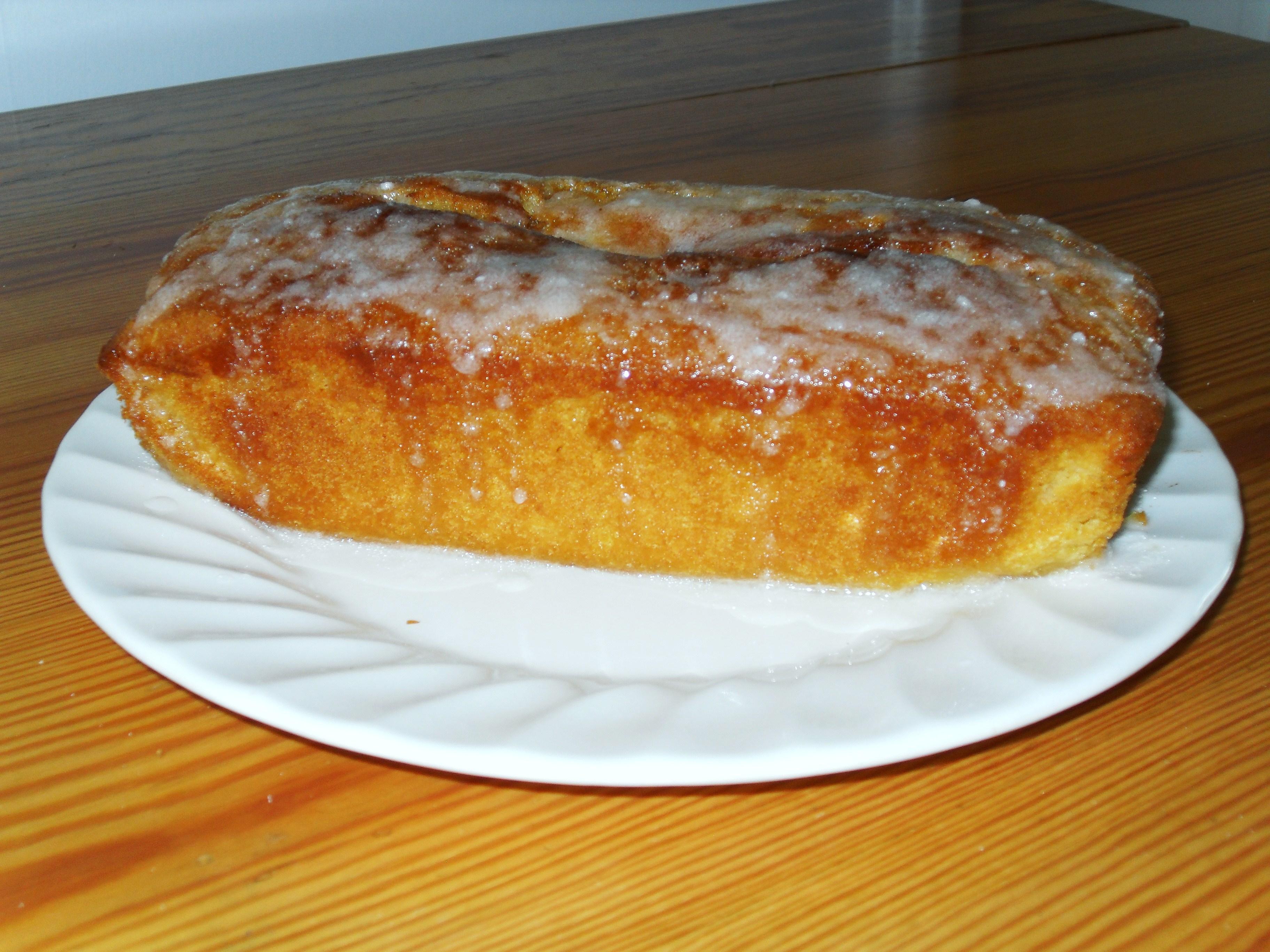 Splenda Lemon Drizzle Cake